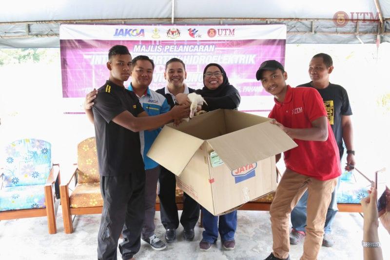 UTM lancar projek Vortex Hidro pertama di Malaysia bekalkan elektrik percuma kepada masyarakat orang Asli