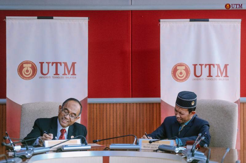 Majlis Menandatangani MoU Antara UTM & UNISSULA, INDONESIA