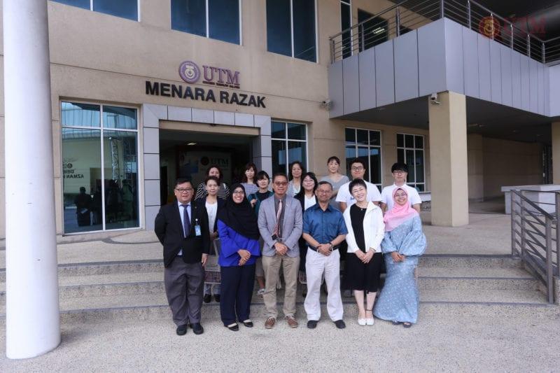 The Consortium Universities in Osaka Visit UTM Kuala Lumpur
