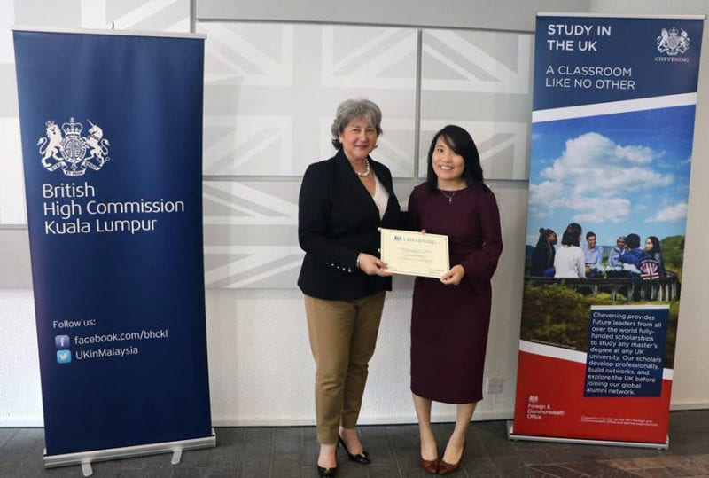 Former UTM student to receive the prestigious British Chevening Scholarship