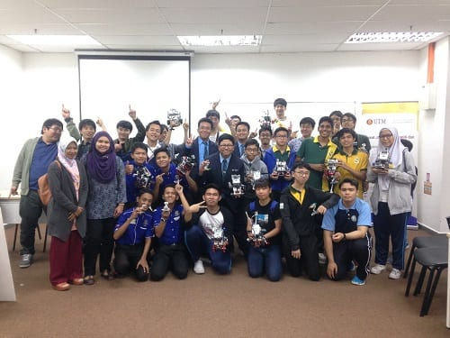 MJIIT in Collaboration with Yamaguchi University organized Robotic Competition for Secondary School Students