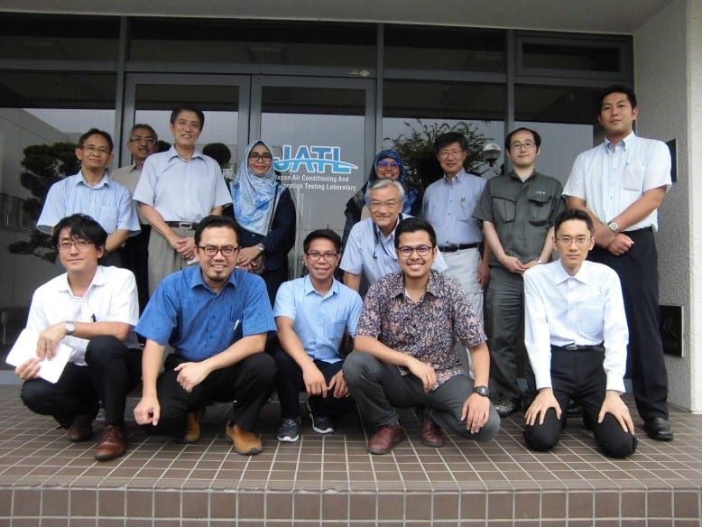 Report on Workshop at Japan Air Conditioning & Refrigeration Testing Laboratory (JATL)