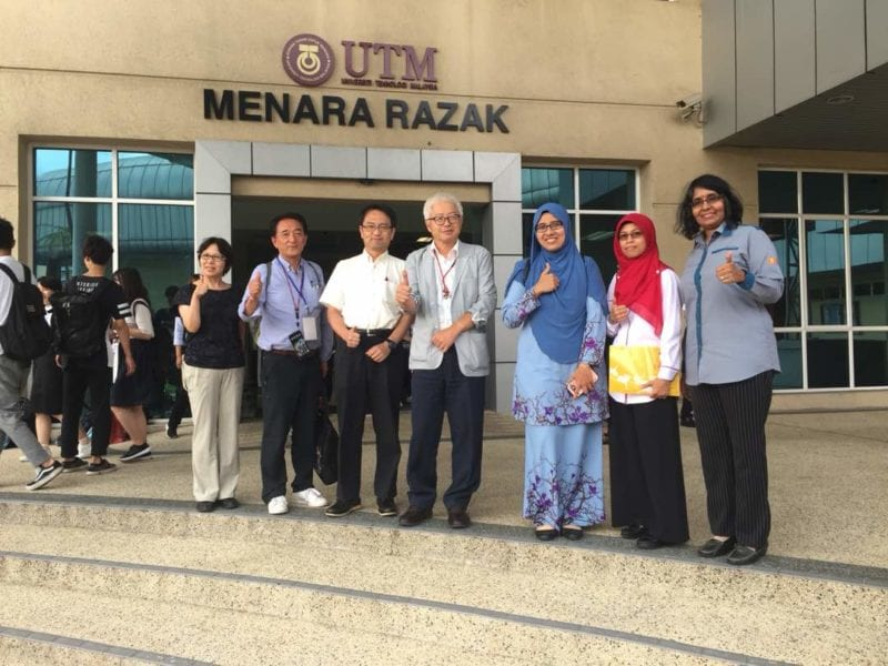 2nd Official visit by Okayama University and Shinshu University to UTM Kuala Lumpur