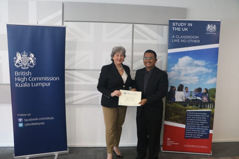 UTM-ATMA graduate receives Chevening Scholarship