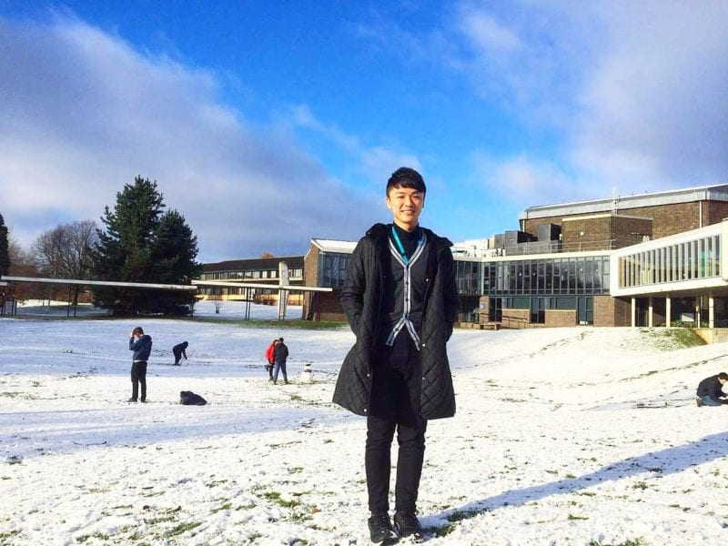 UTM's Lam Ming Quan: A PhD YK scholar had his research internship at University of York, UK