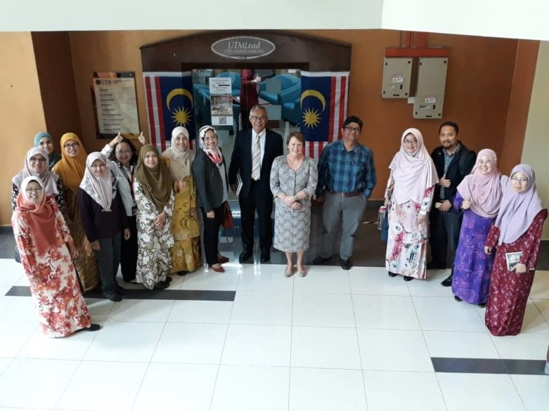 Visiting Professor Consults UTM And UTMSpace On Academic Leadership