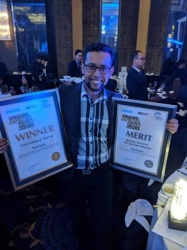UTM Alumni Won Two Categories at 2018 MSC Malaysia Asia Pacific ICT Awards