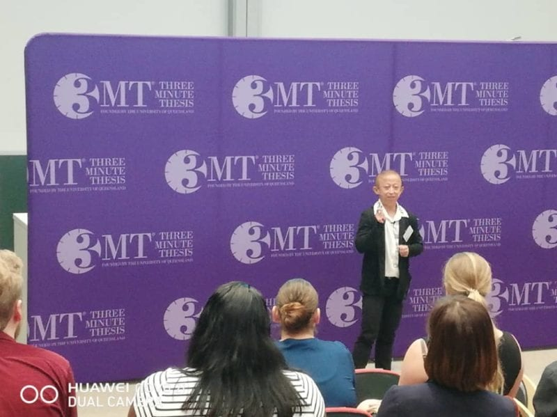 UTM Represents the Nation In Asia-Pacific 3MT Competition