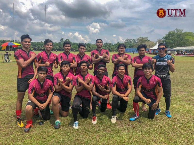 UTM Pirates Junior Johan Plate Kejohanan Rugbi Matrikulasi 7's