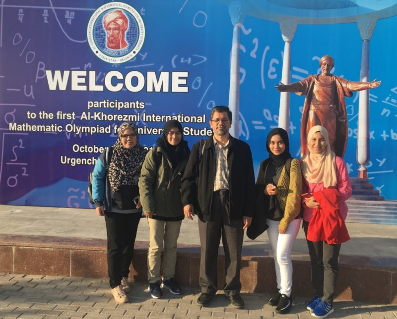 Faculty of Science Students to Compete In the International Mathematical Olympiad in Uzbekistan