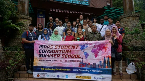 ISPRS Student Consortium Summer School 2018