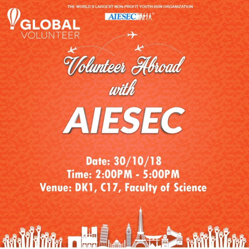 Volunter Abroad with AIESEC