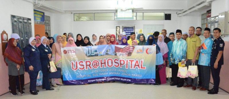 UTM-HSA anjur program realisasi hospital mesra ibadah