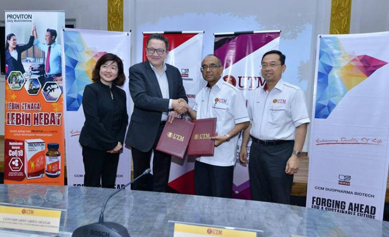 UTM-CCM Duopharma Biotech sign collaboration agreement