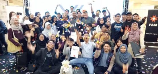 Pelajar Diploma Senibina UTM Cemerlang pada PAM Annual Architecture Student Works Exhibition (PAASWE) 2018