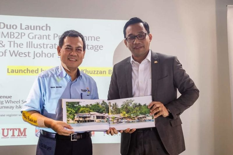 IRDA Launches IMB2P and West Johor Strait Illustrated Heritage in Collaboration with UTM
