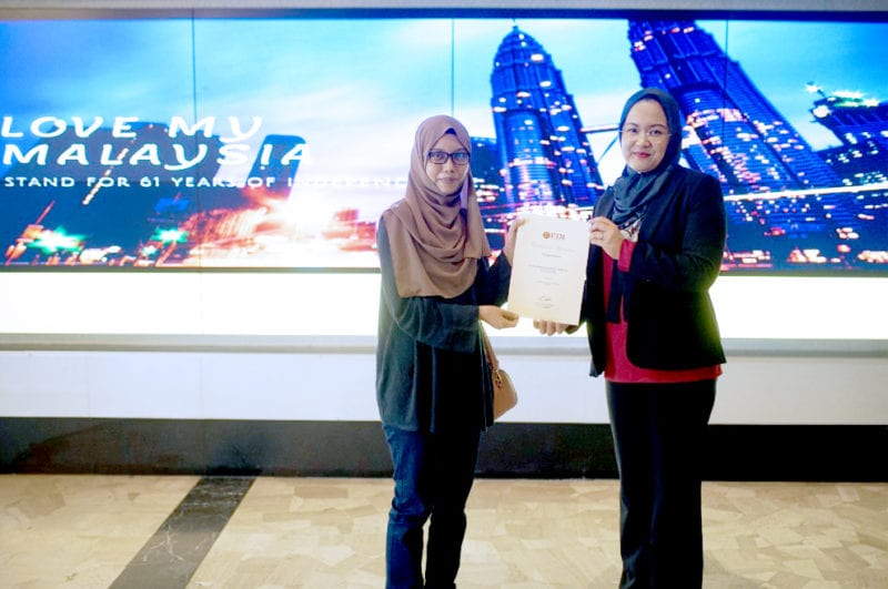 Tahniah pemenang Mobile Phone Video Competition edisi Bulan Kemerdekaan