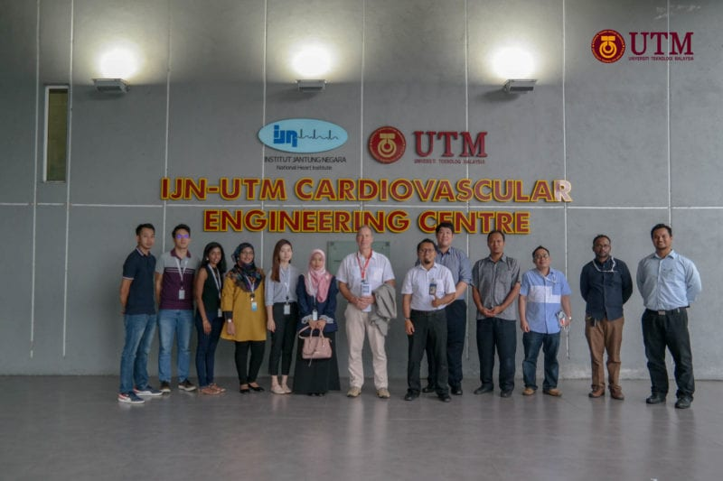 IJN-UTM Cardio Centre Welcome HID Global Sdn Bhd Visit to EMC Lab
