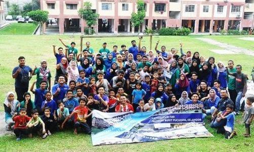 Anak Angkat Dari UTM Jayakan Rejuvinasi Pangsapuri Bandar Bukit Puchong
