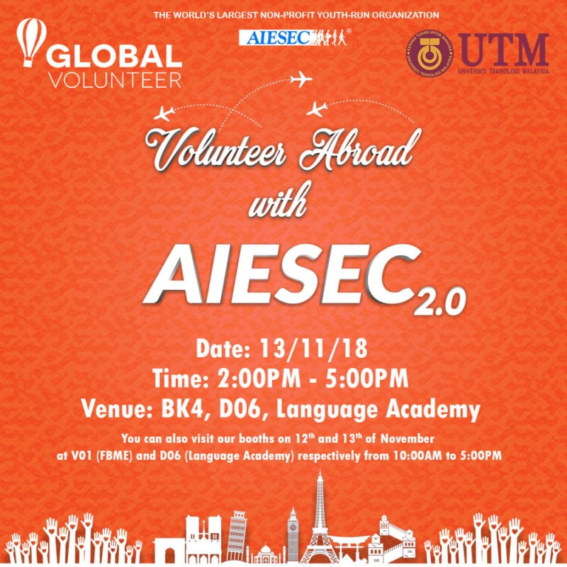 Volunteer Abroad with AIESEC 2.0