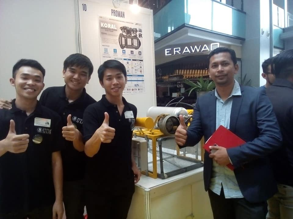 UTM Team Won 2nd Runner-up in National UniMAKER MAKEATHON Challenge