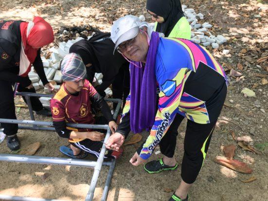 40 Mahasiswa UTM Melestarikan Ekosistem Marin Pulau Songsong