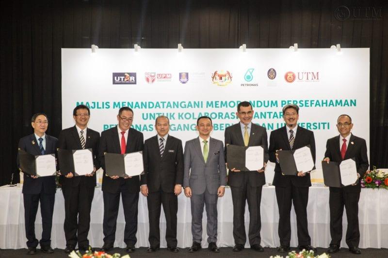 UTM – Petronas Dagangan Berhad Materai MoU Bangunkan Keupayaan Dan Pupuk Start-Up
