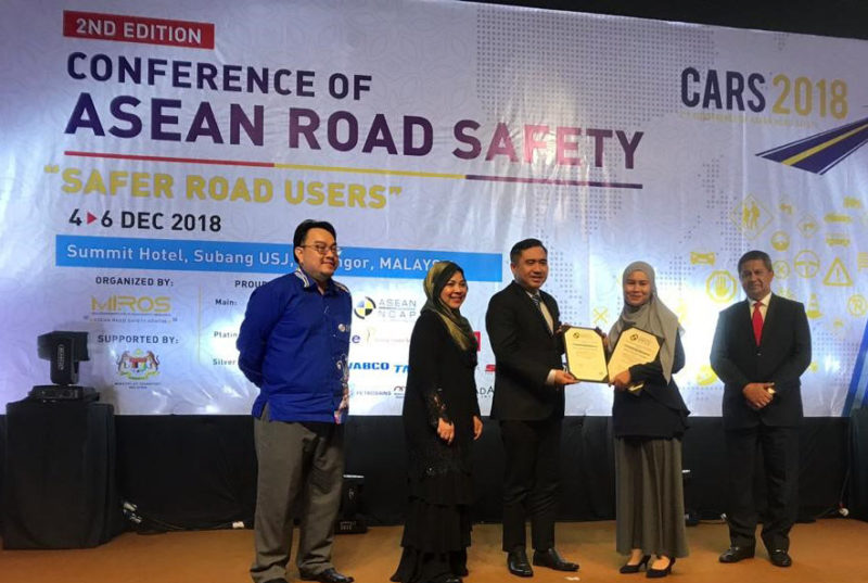 UTM Spin Off Company well awarded at CARS2018