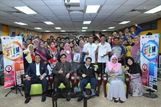 25 Buah Sekolah Menyertai Kembara STEM UTM-JPNJ 2018