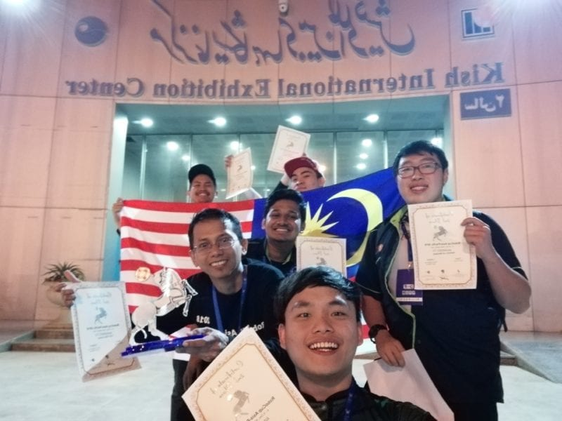 UTM's INNOKAI team won 2nd place in Robocup Asia Pacific 2018