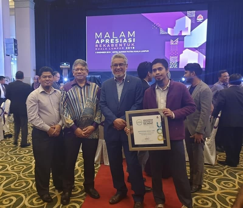 Residensi UTMKL raih Anugerah Khas Juri pada Anugerah Aksesibiliti Sejagat Datuk Bandar Kuala Lumpur 2018