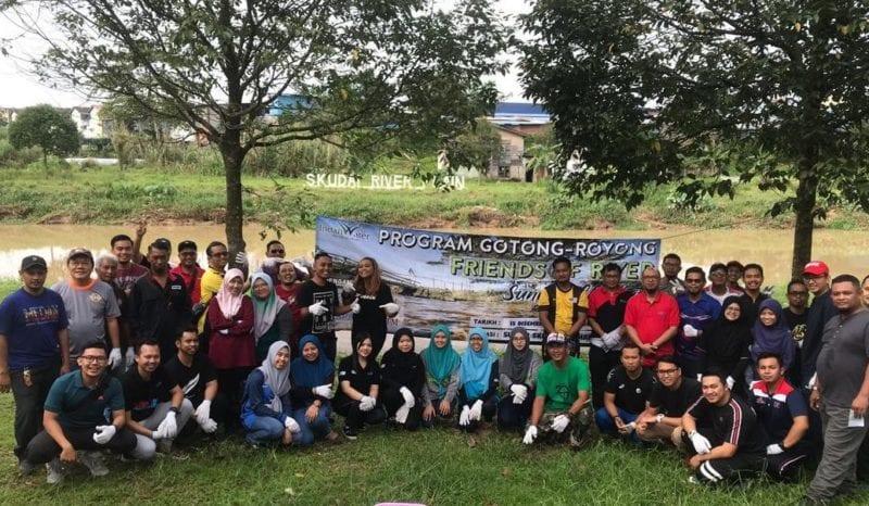 Program Friend of River Timbulkan Kesedaran Tentang Kebersihan Sungai