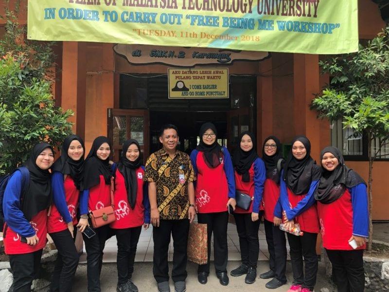 Bengkel Free Being Me oleh UTM Tingkat Keyakinan Diri Remaja Indonesia