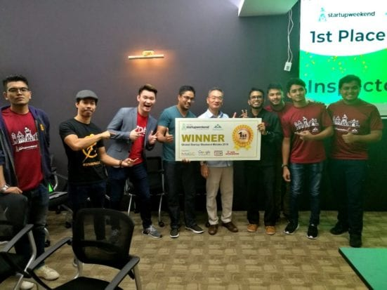 UTM Students Won 1st And 2nd Place in Startup Weekend Global Melaka