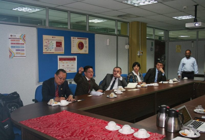 Visit from Tashkent Institute of Architecture and Civil Engineering (TIACE), Republic of Uzbekistan