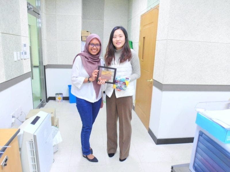 STUDENT EXCHANGE PROGRAM TO CHONNAM NATIONAL UNIVERSITY, SOUTH KOREA