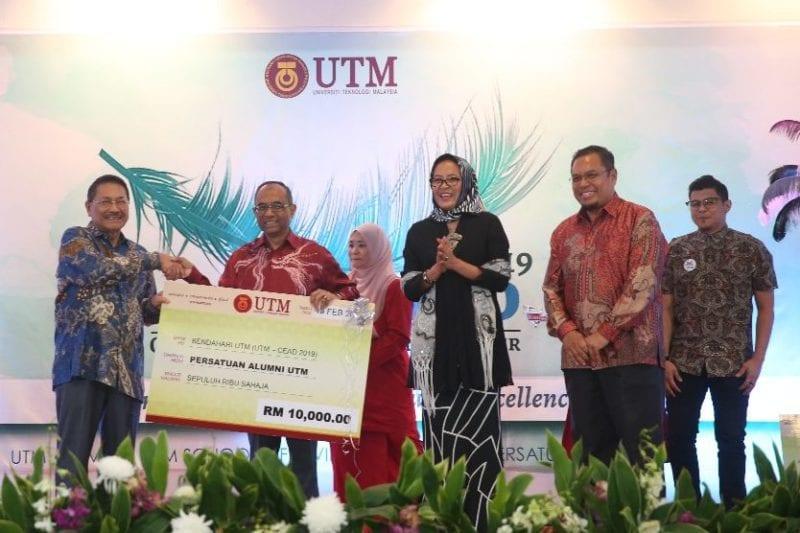 Sekolah Kejuruteraan Awam Raikan Alumni dalam UTM-CEAD