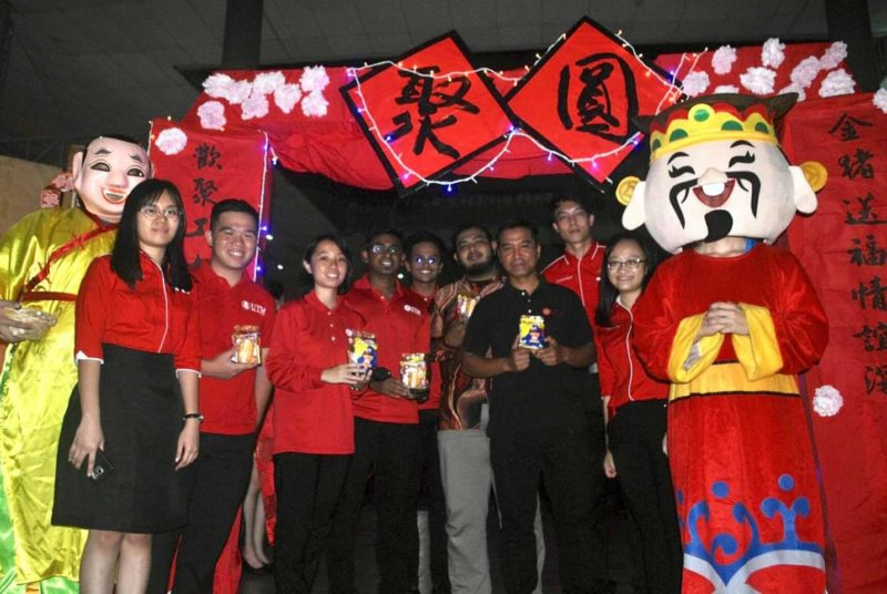 UTM Lunar New Year Celebration Attracted More Than 300 UTM Students From Different Races