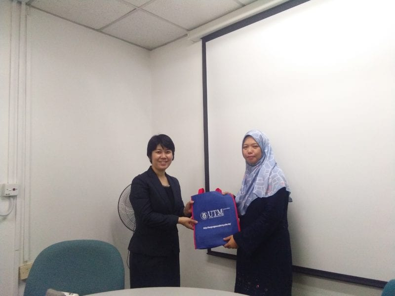 Delegation Meeting from Japan University