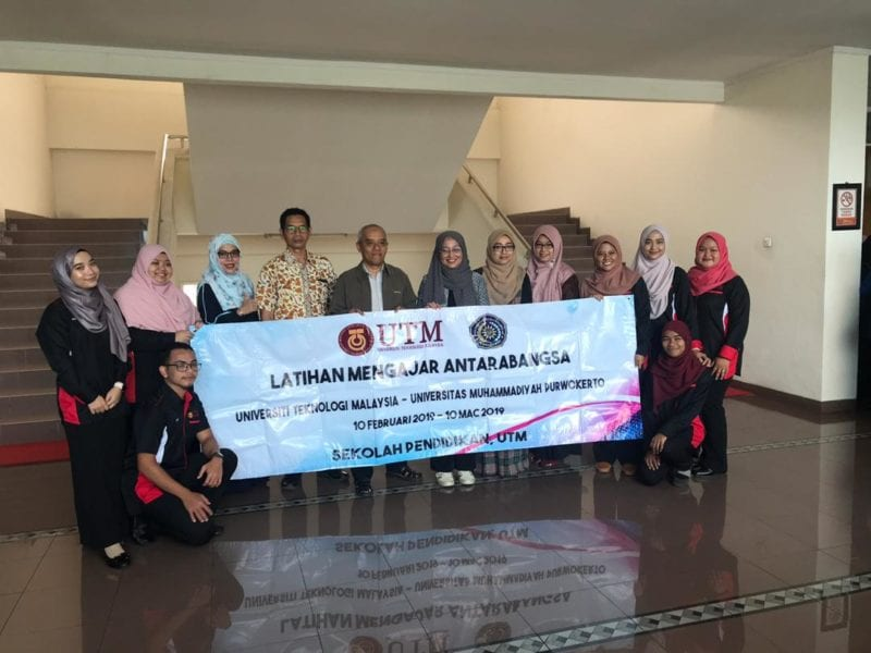 International Sit-In Teaching Practice Program at Purwokerto, Indonesia