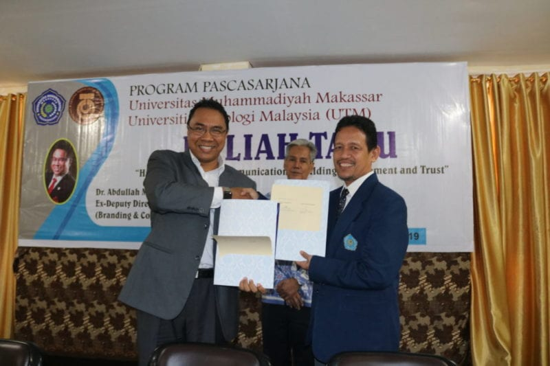 UTM expands its influence in Indonesia