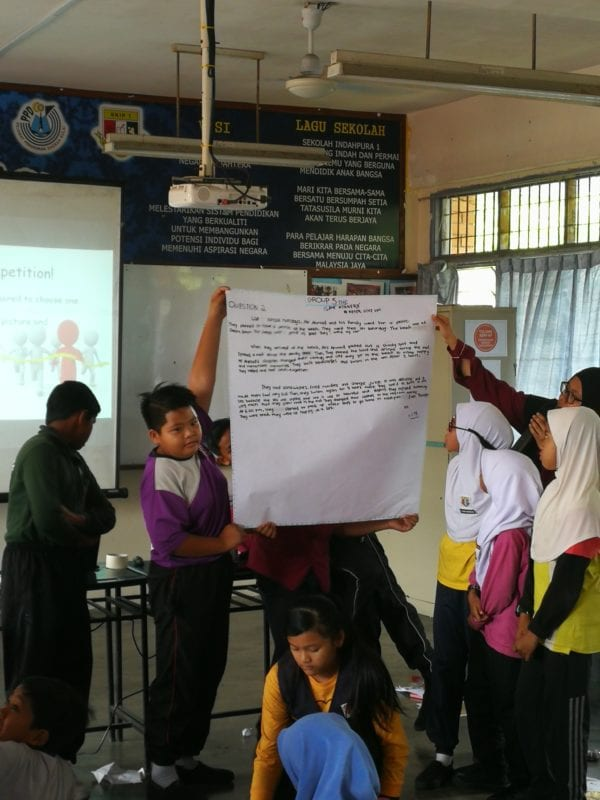 Language Academy, UTM goes to SK Taman Indahpura 1