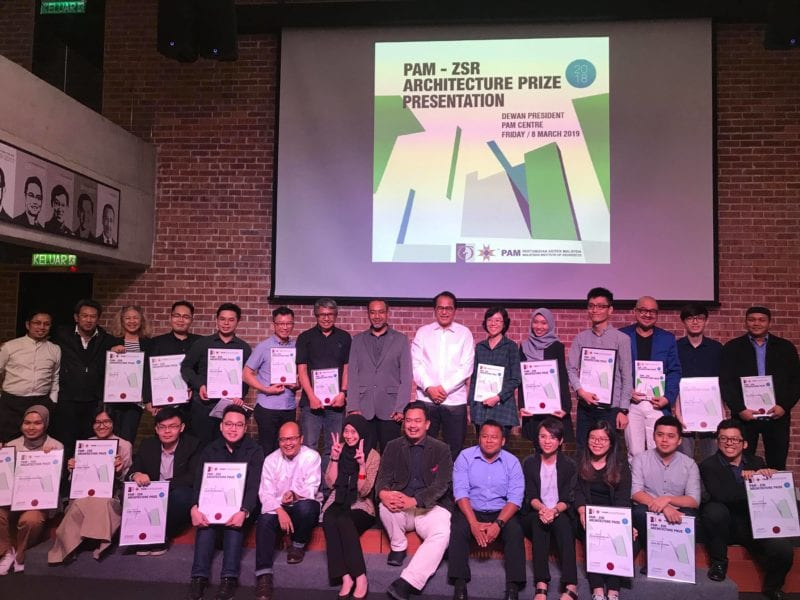 Six Students From Faculty Of Built Environment And Surveying, UTM Won PAM-ZSR Architecture Prize 2018