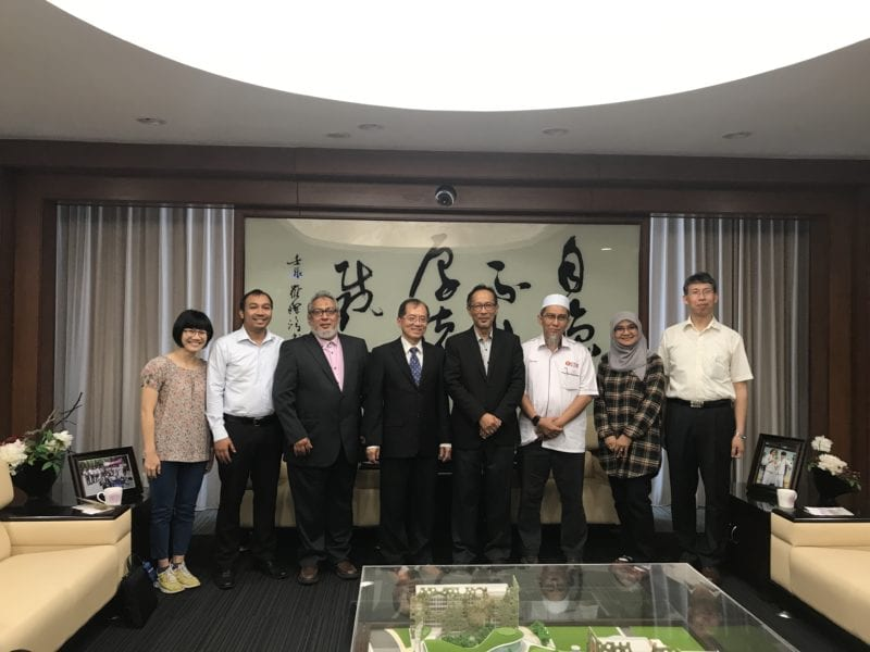 UTM Delegation Visited Taiwanese Universities and Research Institute
