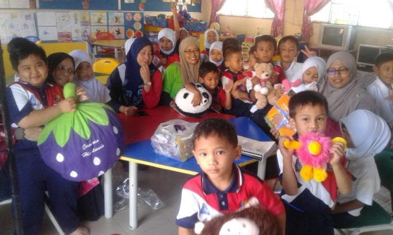 STEM Education at Pre-School Level for Children at a Rural School in Johor