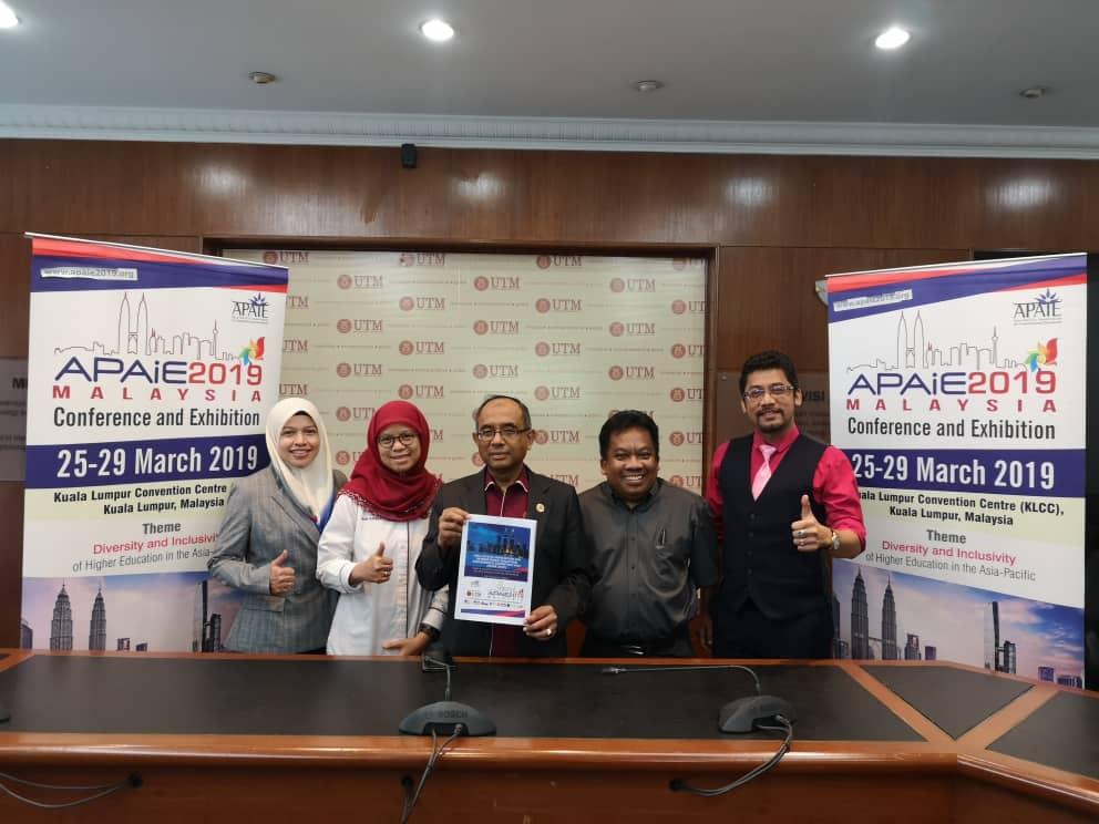 UTM Penganjur Utama APAIE 2019