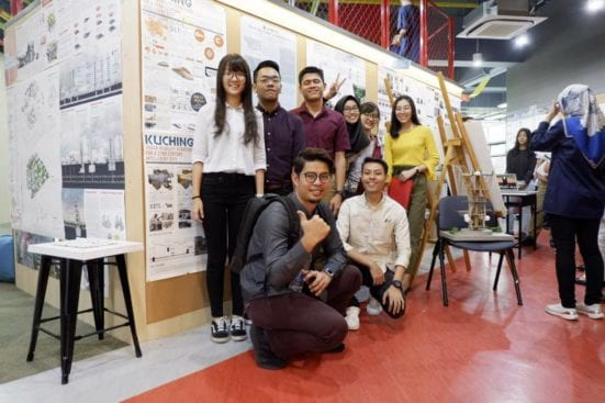 Pelajar FABU Menyinar di Malaysia Urban Forum 2019