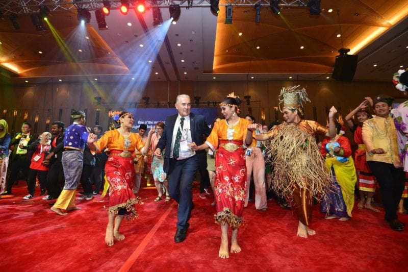 APAIE Gala Dinner : Dining Activity Turns Celebration of Culture