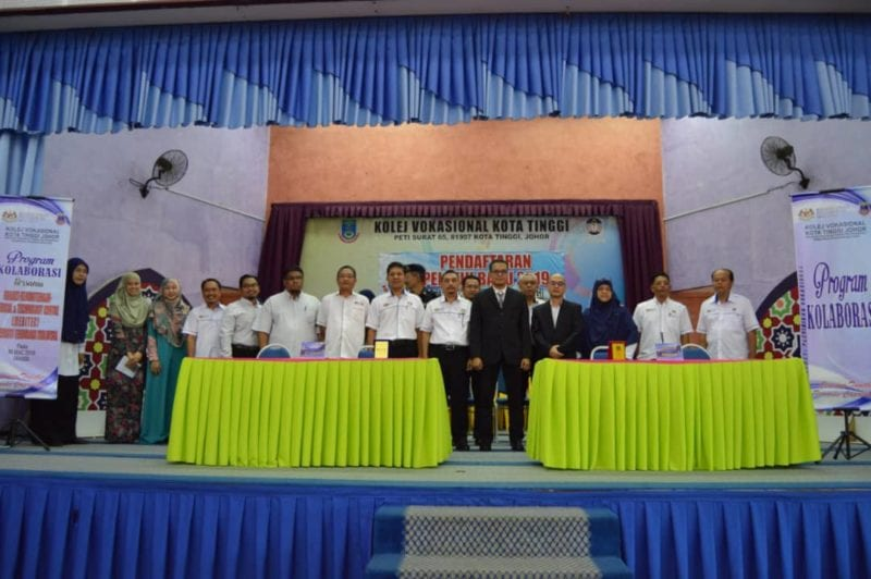 Collaboration Between UTM and Kolej Vokasional Kota Tinggi to Nurture Design Process into TVET