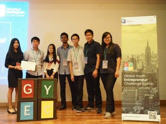 UTM raih tempat ketiga dalam Global Youth Entrepreneur Challenge Camp (GYECC) 2019